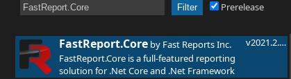 FastReport.Core