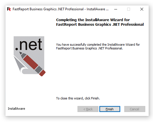 Скриншот установщика после успешной установки