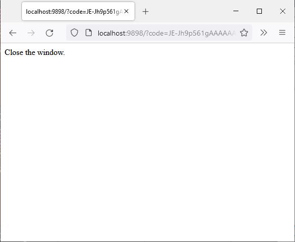Сообщение в браузере