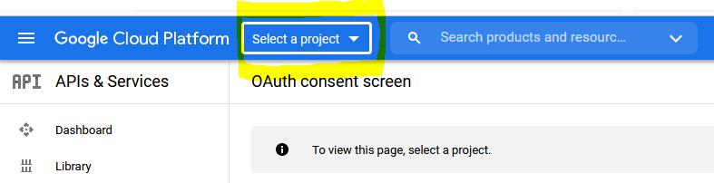 Подключение к Google Drive